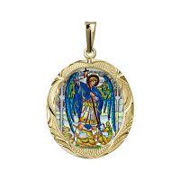 San Miguel Arcángel medallón