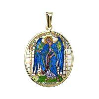 Arcángel Gabriel medallón