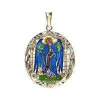 San Gabriel arcángel medallón