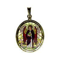 304-305R Archangels medallion side B Uriel