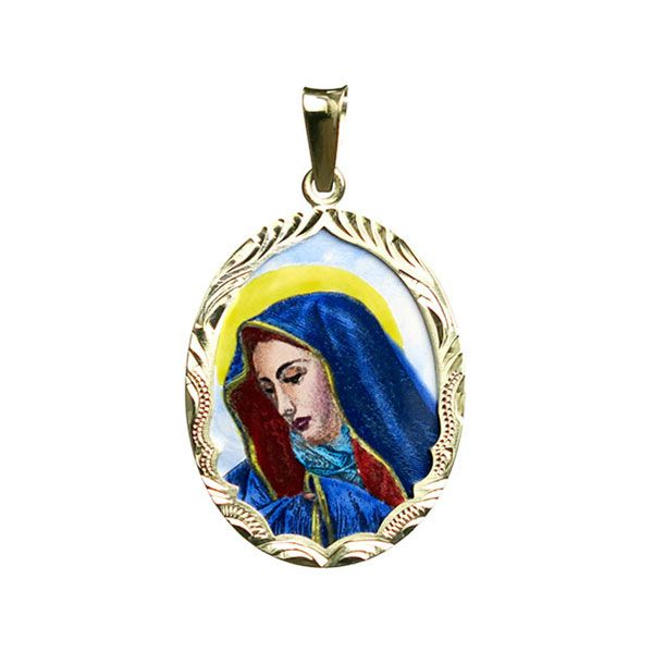 259R Mother of Sorrows Medallion
