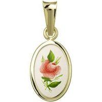 Medalla de Rosa roja miniatura
