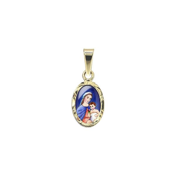 017R Madonna with Child medal