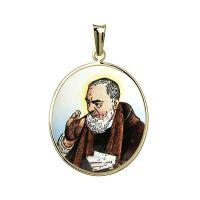 Medalla de Padre Pío más grande