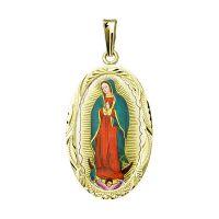 Nuestra Señora de Guadalupe medallón más grande
