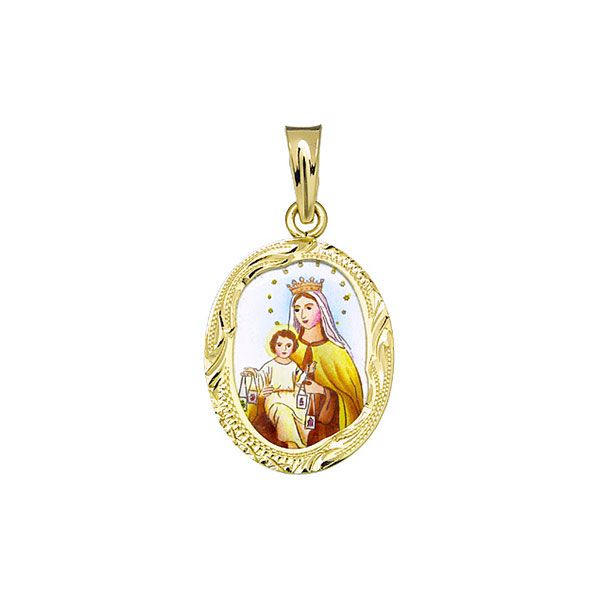 146R Our Lady of Carmel Medal