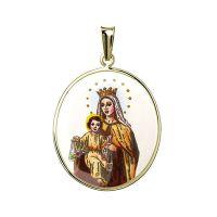 Medalla de Nuestra Señora del Carmen más grande