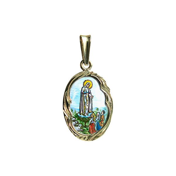 Our Lady of Fatima Medallion
