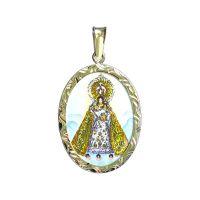 Medalla de Nuestra Señora del Rosario de Manaoag grande