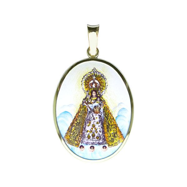 202H Our Lady of Manaoag medal larger