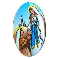 Semiproducto 527 Medalla de Nuestra Señora de Lourdes más grande