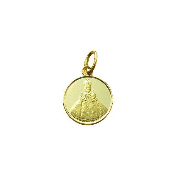 801 Infant Jesus of Prague Medal Gold