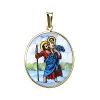 San Cristóbal Medalla más grande