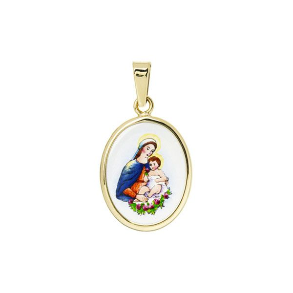 147H Madonna with Child Medal