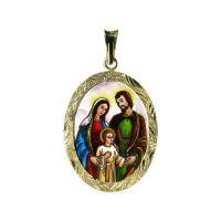 Medalla de Sagrada Familia grande
