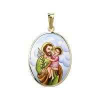 San José medalla grande