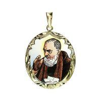 Medalla de San Pío de Pietrelcina más grande