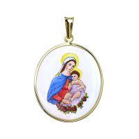Medalla Virgen con Niño
