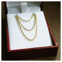 1445 gold chain 45 cm