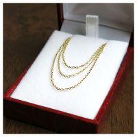 1345 gold chain fine 45 cm