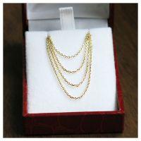 1355 gold chain fine 55 cm