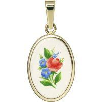 Motivos florales medalla