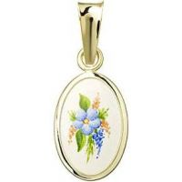Medalla de Motivos florales miniatura